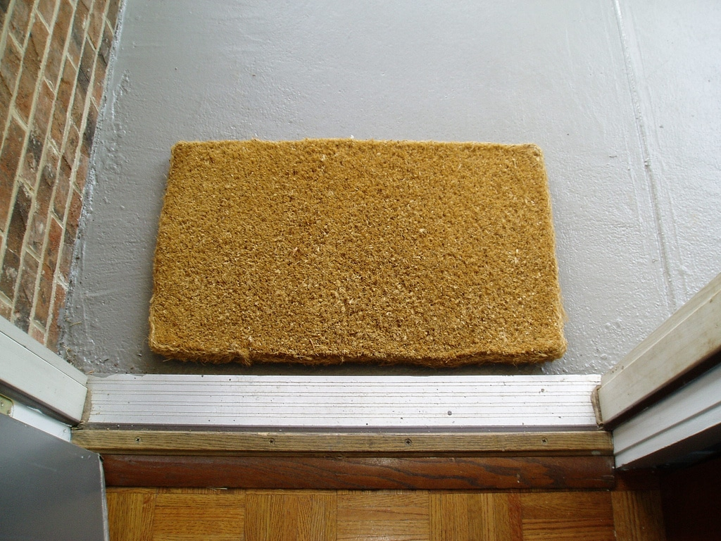 How Do I Clean My Doormat Flower Maid