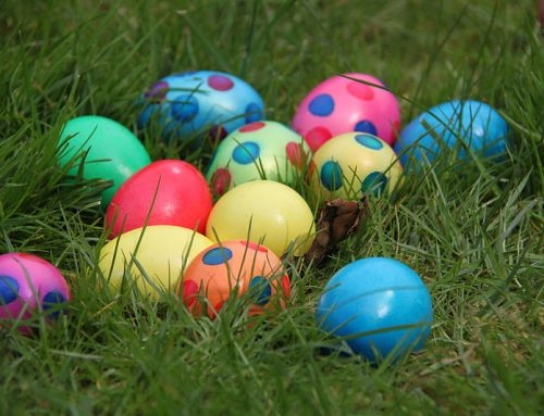 Use an Easter Egg Hunt as a reward for Tidy Rooms